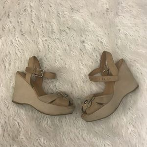 Coach Poppy Wedge Sandals Size 7